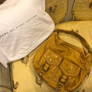 Marc by Marc Jacobs Yellow Leather Shoulder Bag